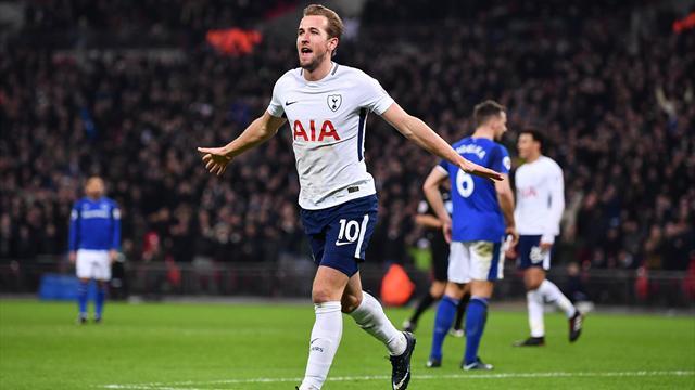 Rekordjäger Kane - Tottenham deklassiert Everton