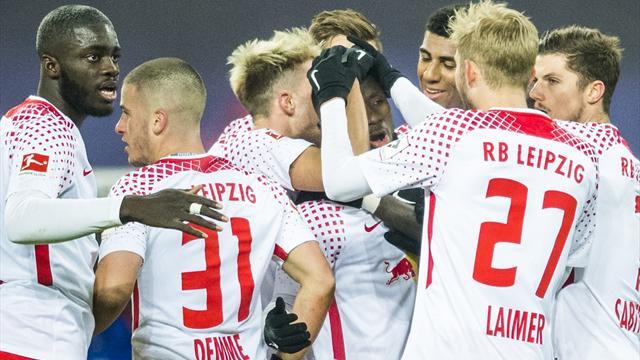 Leipzig laisse Schalke sur place, le Bayern s'en frotte les mains