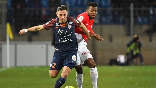 Monaco freiné à Montpellier, Lille et Bordeaux se relancent