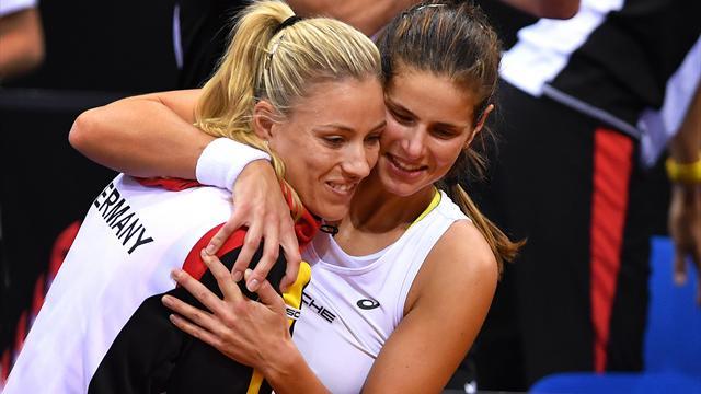 Frohe Kunde vor dem Halbfinale: Kerber und Görges vor der Rückkehr