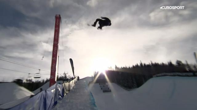 100! Legende Shaun White nagelt den perfekten Run in die Halfpipe