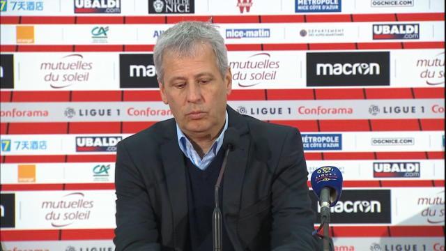"""FOOTBALL: Ligue 1: 20e j. - Favre : """"Il fallait être patient"""""""