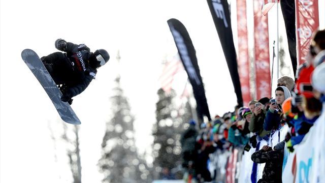 Shaun White a décroché sa qualif' olympique en beauté : 100, le score parfait !