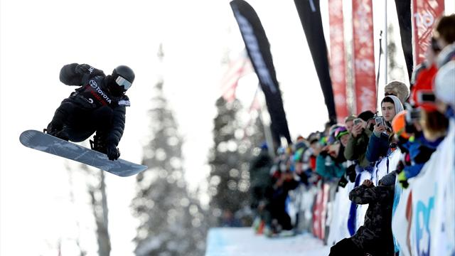 White lays down perfect run to take Snowmass World Cup victory