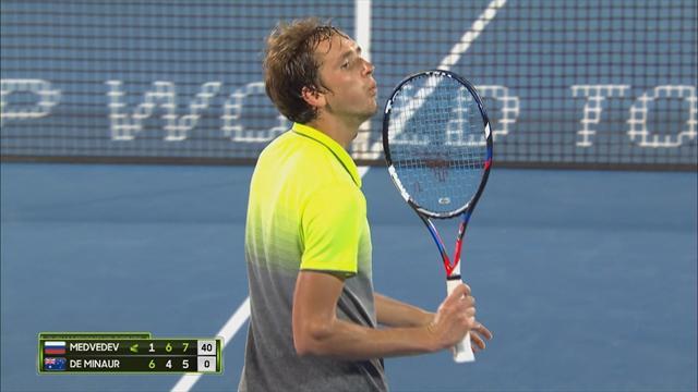 Хайлайты той самой победы Медведева в финале турнира ATP. Гордость