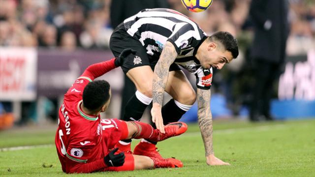 Swansea City's Jordan Ayew on target in Newcastle United stalemate