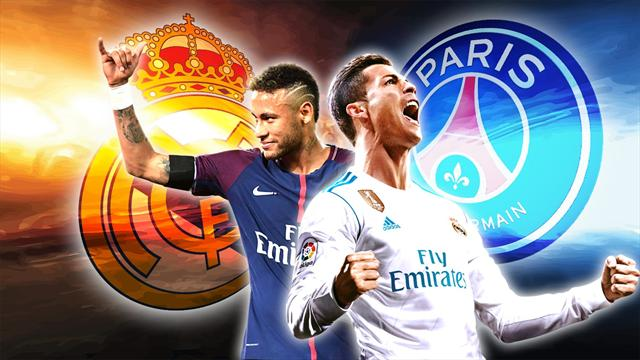 Votez pour l'équipe ultime entre le PSG et le Real Madrid
