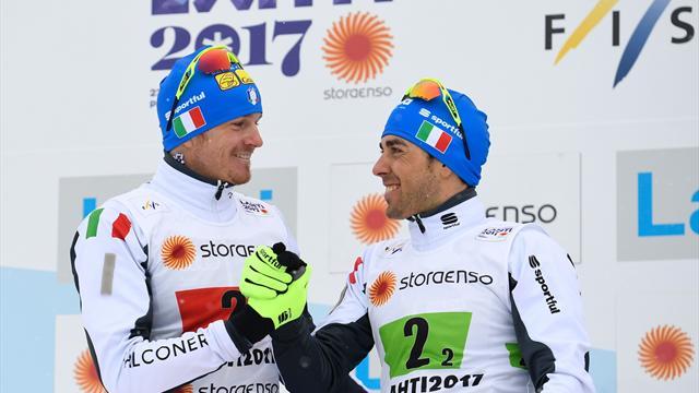 Dietmar Noeckler affiancherà Federico Pellegrino nella team sprint a tecnica libera