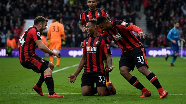 Bournemouth hit back to stun wasteful Arsenal