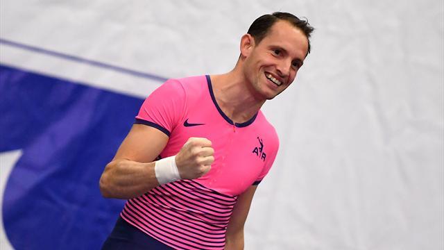 Lavillenie signe la meilleure performance mondiale à 5,86 m