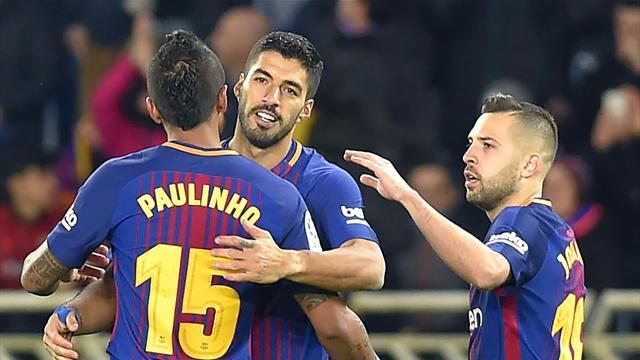 La feuille morte exceptionnelle de Suarez a remis le Barça à l'endroit