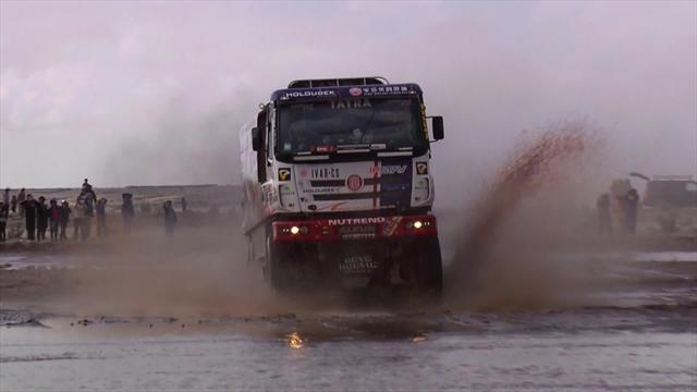 Stage 8: Trucks highlights