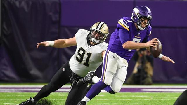 Con touchdown de último segundo, los Vikings derrotan a Santos