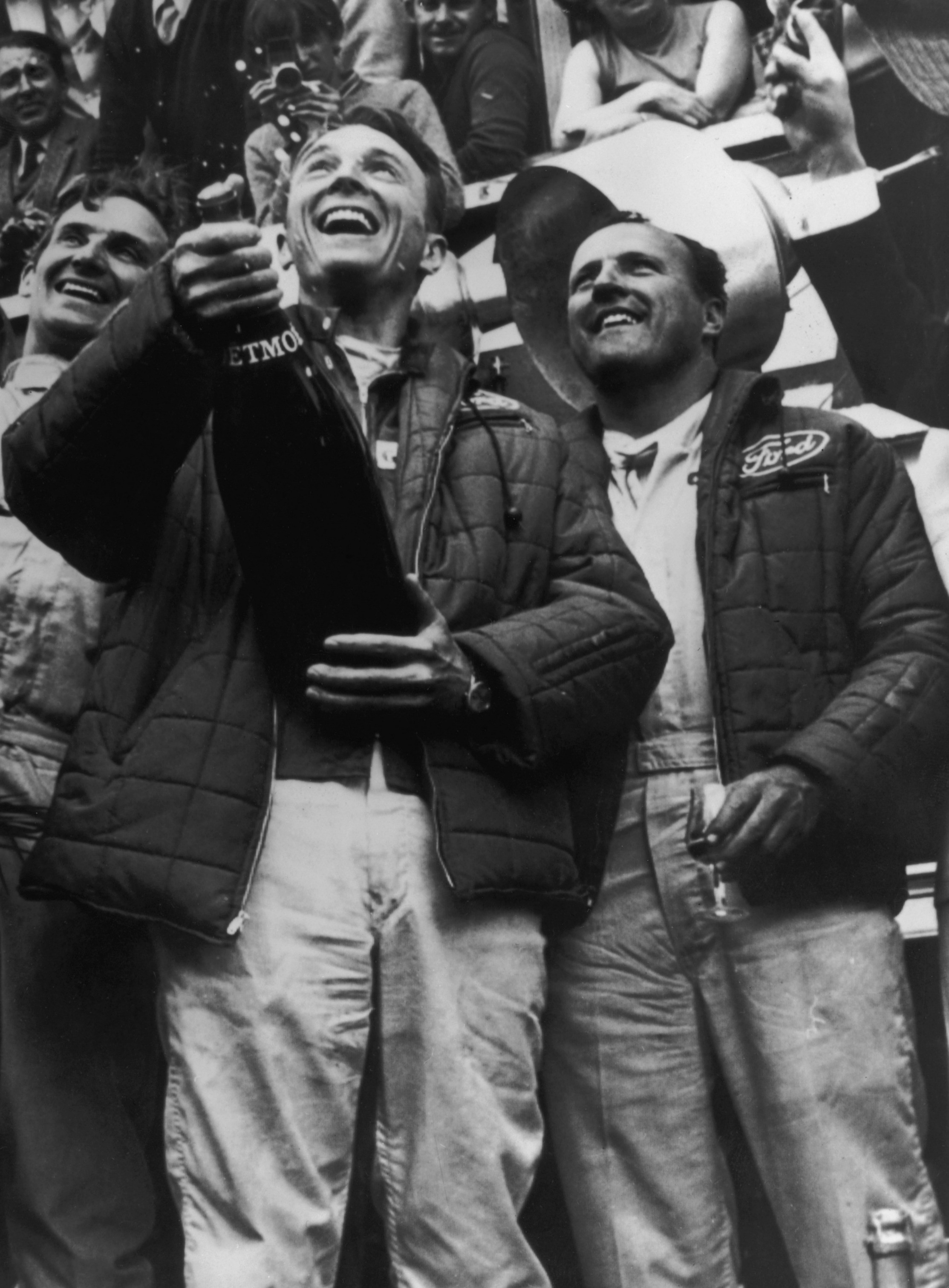 Dan Gurney et Anthony Foyt (Ford) vainqueurs des 24 Heures du Mans 1967