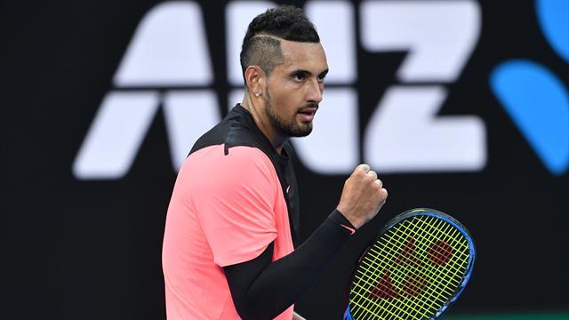 Kyrgios wants Australian Open gains