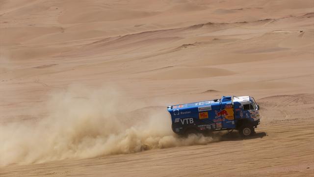 Экипаж Николаева провалил 11-й этап ипотерял лидерство на«Дакаре»