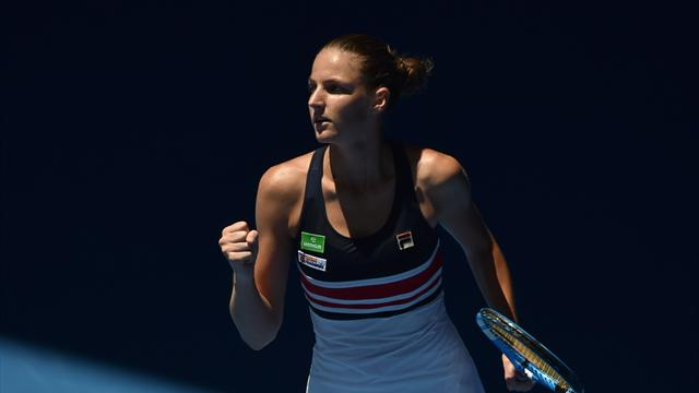 Karolina Pliskova reaches fourth round