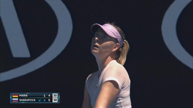 C'est déjà fini pour Sharapova