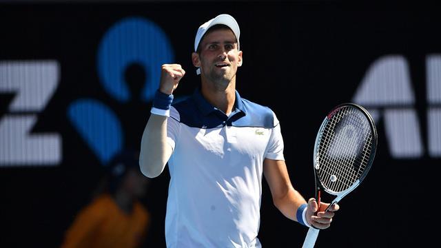 Convaincant retour pour Djokovic