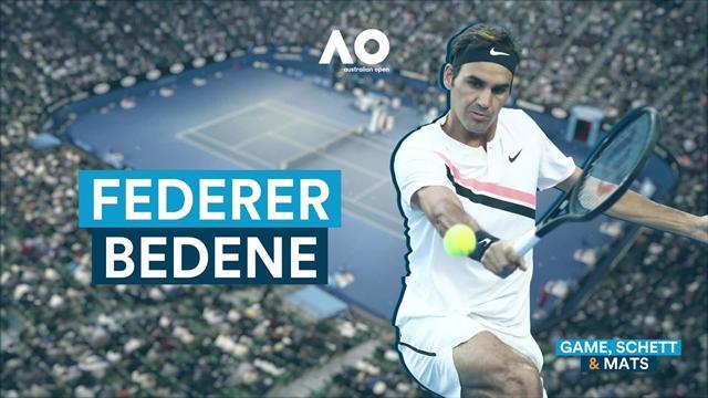 """Game, Schett & Mats: """"Federer 2018 besser als vergangenes Jahr"""""""