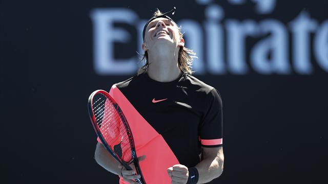 Теннисный бетман. Шаповалов поборется с Тсонга и еще 3 ставки на третий день Australian Open
