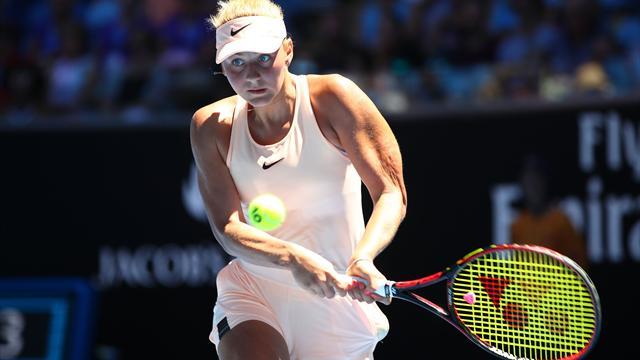 Свитолина внервном матче вышла во 2-ой круг Australian Open