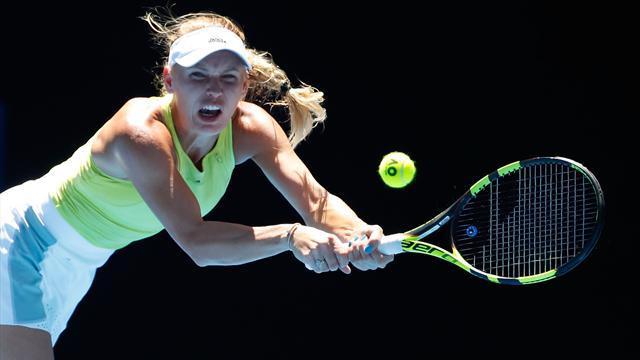 Brividi e rimonta: la Wozniacki annulla 2 match point, ma alla fine stende la Fett