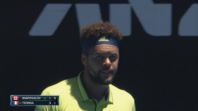 Highlights: Tsonga sees off Shapovalov in epic