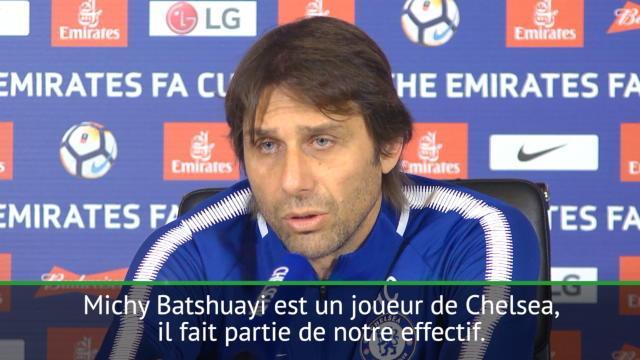 "Conte : ""Batshuayi ? La décision appartient au club"""