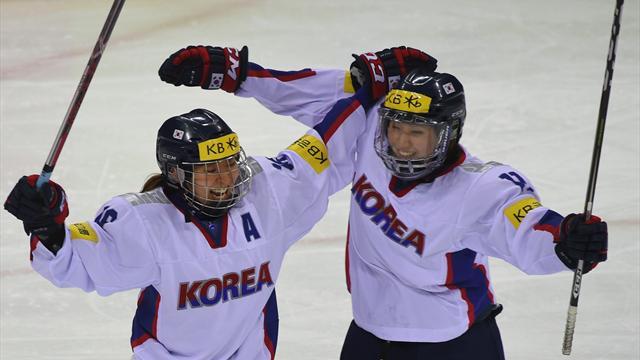 Les deux Corées défileront ensemble et aligneront une équipe de hockey dames commune