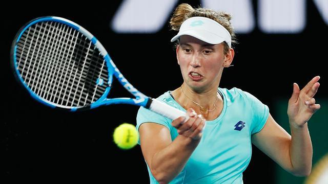 Alizé Cornet éliminée au troisième tour — Open d'Australie