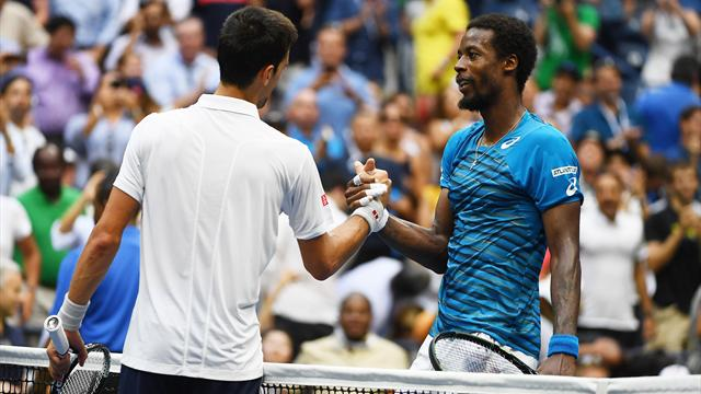 Monfils : «Novak, ça reste Novak»