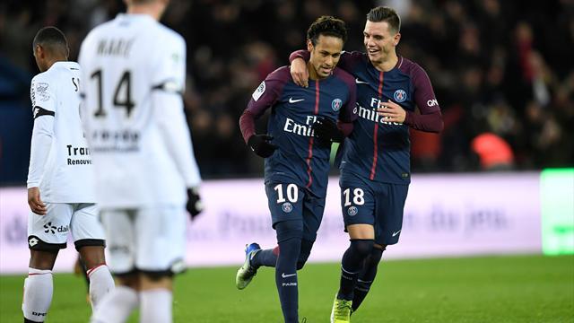 Le grand huit pour Paris, le quadruplé pour Neymar