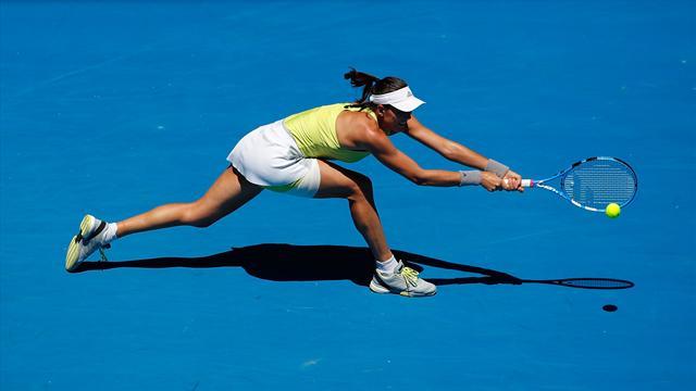 Muguruza desarma a Cirstea en los octavos del Torneo de Doha