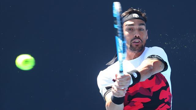 Australian Open, Fognini vince ancora