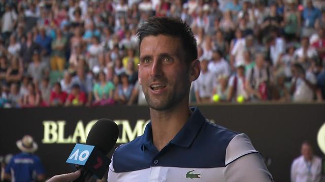 """Djokovic: """"Estoy construyendo, tengo fe y soy consciente de lo que puedo hacer"""""""