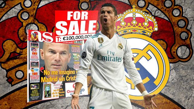 Euro Papers: Ronaldo transfer listed and Zidane could walk as Real Madrid crisis intensifies
