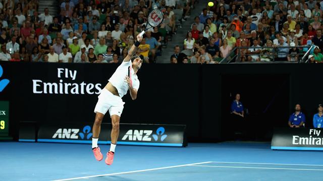 Open Australia 2018: El juego exprés de Roger Federer