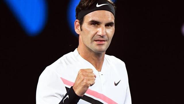 El suizo Federer pasó a los cuartos de final de Australia