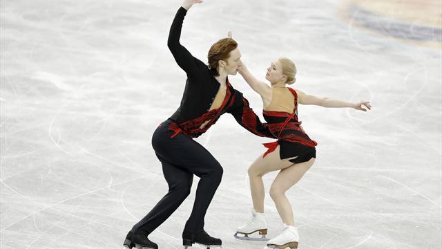 Русские фигуристы заняли весь пьедестал чемпионата Европы в столице России