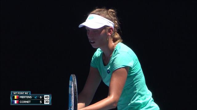 Avustralya Açık 2018: Elise Mertens - Alize Cornet (Özet)