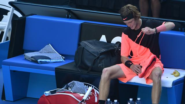 Рублев проиграл Димитрову втретьем круге Australian Open