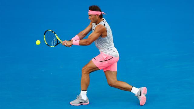 Open de Australia 2018: El revés de Rafa Nadal, a examen: ¿Por qué ahora es más efectivo?