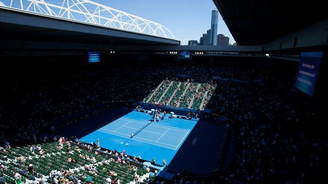Novak Djokovic into Australian Open third round after win over Gael Monfils