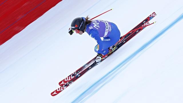 Vonn victorieuse et toujours plus proche du record — Cortina d'Ampezzo