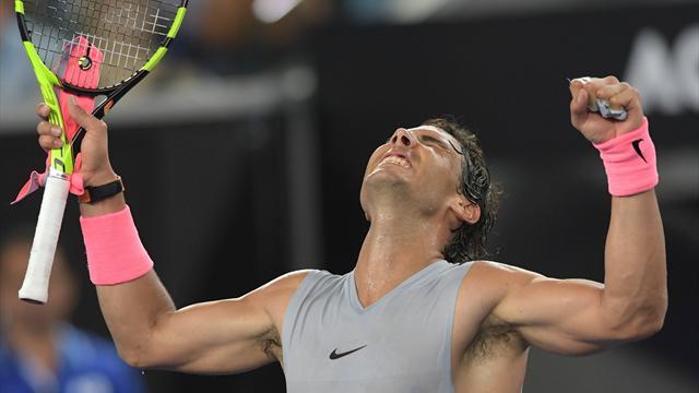 Open Australia 2018, Nadal-Dzumhur: Sensaciones de campeón (6-1, 6-3 y 6-1)