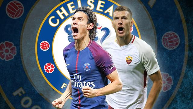 Euro Papers: Chelsea make huge Edin Dzeko offer – but are tempted by old flame Edinson Cavani