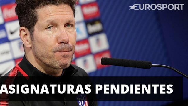 Las asignaturas pendientes del Atlético según Simeone