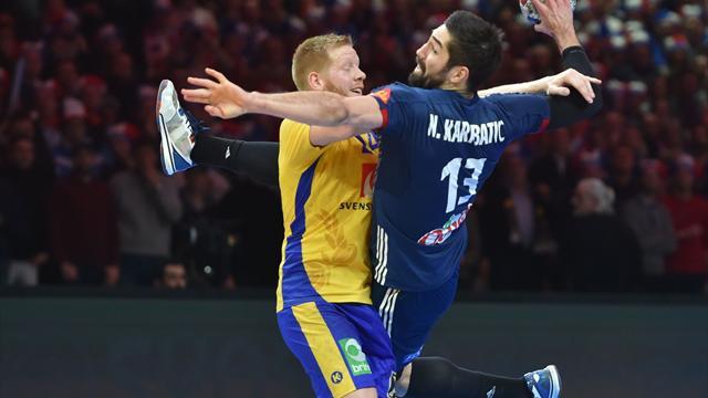 Luka Karabatic de retour — Euro de hand