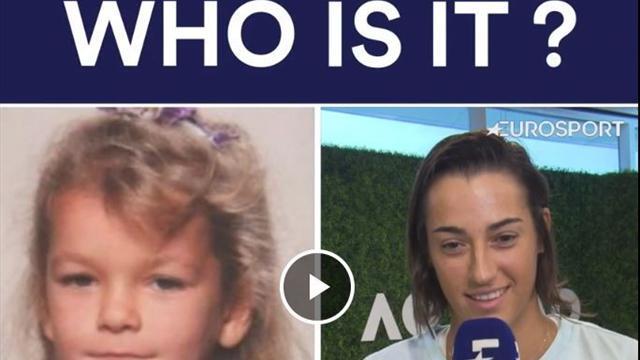 Caroline Garcia s'essaie à notre jeu du «Qui est-ce ?»